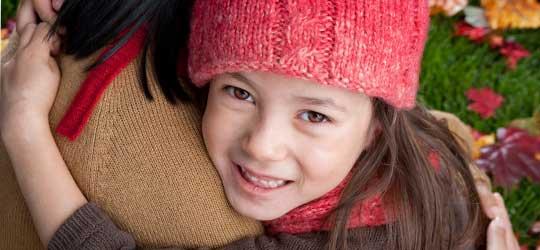 smiling-child-hug